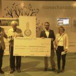 ANOVE recauda 11.600 euros en la Feria Fruit Attaction para el proyecto de capacitación agraria en Tanzania