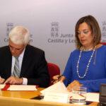 Castilla y León firma un convenio con Agroseguro para anticipar la ayuda y abonarla directamente en el momento de suscribir la póliza del seguro
