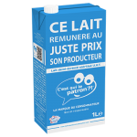 """""""C'est qui le patron?"""", la leche con Marca de Consumidor,  que triunfa en Francia entre productores, consumidores y distribución"""