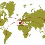 Se mantiene la distribución geográfica de los destinos de la exportación española de frutas y hortalizas hasta julio