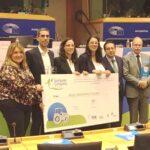 """Tres ganaderos palentinos obtienen el Premio Europeo """"Joven agricultor innovador"""""""