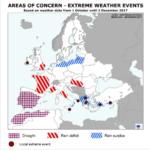 Las abundantes lluvias en el norte de la UE están retrasando las siembras