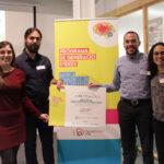 Nanoplastics, film antibacteriano para alimentos, gana el premio al mejor proyecto innovador del Programa de Generación de Ideas