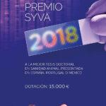 El próximo 3 de mayo se hará entrega del XXI Premio SYVA a una tesis sobre la paratuberculosis de rumiantes