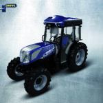 New Holland presenta el tractor autónomo T4.110F NHDrive para viñedos, preparado para un proyecto piloto con la bodega E. & J. Gallo Winery en California, EE. UU