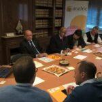 Anafric se reúne con el embajador sudafricano para abrir relaciones comerciales