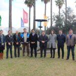 El consejero de Agricultura de Andalucía visita la estación experimental de BASF en Utrera, Sevilla