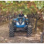 """New Holland presenta en Fima la nueva serie de tractores T4FB """"Frutero Bajo"""""""