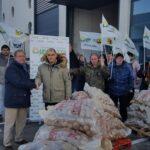 La Alianza UPA-COAG dona 1.000 kg de patatas al Banco de Alimentos como protesta por los bajos precios