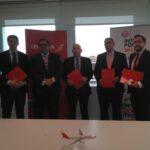 INTERPORC e Iberia se alían para impulsar la internacionalización del sector porcino español