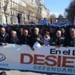 Más de 15.000 personas de Murcia, Alicante y Almería se manifestaron ayer en Madrid para pedir agua