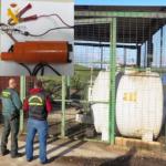 La Guardia Civil desmantela un grupo dedicado al robo de gasoil en explotaciones y empresas agrícolas
