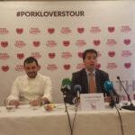 Arranca en Mérida la segunda etapa del 'Pork Lovers Tour' para llevar las bondades del cerdo blanco español a 35 ciudades de España y Reino Unido