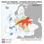 Un cálido abril acelera el desarrollo de los cultivos en la UE