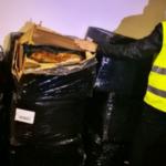 La Guardia Civil intervine 180 kg de hojas de tabaco destinado supuestamente para la fabricación casera y venta clandestina.