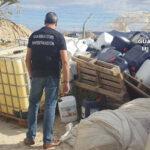 La Guardia Civilrecupera gran cantidad de abonos robados en Almería