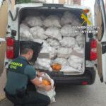 La Guardia Civil recupera en Almería más de 3 t de cítricos robados