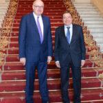 Hogan se reunió ayer con Planas en Madrid