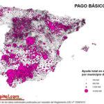 Geografía del pago básico en España