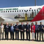 El avión de los Aceites de Oliva vuela a 37 ciudades de 17 países