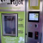 UP: la maquina expendedora de leche cruda tiene que dar prioridad a la del municipio
