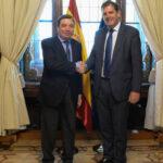 Iñigo Nagore solicita a Planas más apoyo en la financiación de infraestructuras agrarias y de regadío