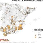 El sur concentra la mayor parte de las ayudas a la producción ecológica