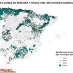 Apoyo desigual a las zonas desfavorecidas en España