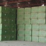 Las exportaciones de alfalfa deshidratada aumentan un 2,4 % en primer semestre de 2018